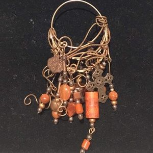 Jewelry - Copper Wire Artist Original Pendant